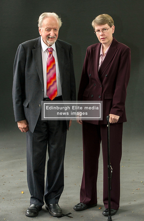 Pictured: John Killick and Kathleen Taylor.  John Killick was a teacher for thirty years, and has been a writer all his life. He has published books of his own poetry and books on creative writing. He began working with people with dementia in 1992, and has held a number of posts with nursing homes, hospitals, libraries and arts centres. Kathleen E. Taylor is a popular science author and a research scientist in the Department of Physiology, Anatomy and Genetics at the University of Oxford. <br /> <br /> Book fanatics headed to Charlotte Square in Edinburgh which is the hub of the international Book Festival to meet the authors and also to meet up with fellow fans of the printed word.<br /> <br /> 25 August 2017