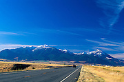 US Highway 89 and Gallatin Mountain Range from Paradise Valley south of Emigrant, Montana..September 20, 2000..Subject photograph(s) are copyright Edward McCain. All rights are reserved except those specifically granted by Edward McCain in writing prior to publication...McCain Photography.211 S 4th Avenue.Tucson, AZ 85701-2103.(520) 623-1998.mobile: (520) 990-0999.fax: (520) 623-1190.http://www.mccainphoto.com.edward@mccainphoto.com