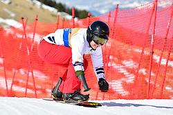MONTAGGIONI Maxime, SB-UL, FRA, Snowboard Cross at the WPSB_2019 Para Snowboard World Cup, La Molina, Spain