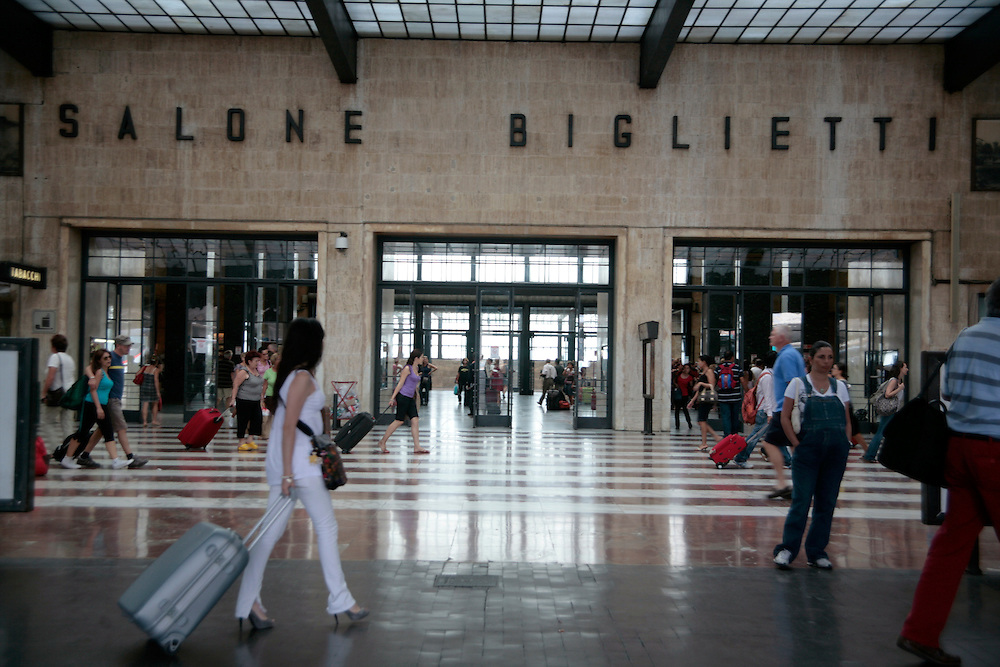 Santa Maria Novella Station, Florence Italy, Florence, Italy