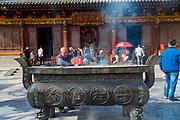 Wild Goose Pagoda, 652, Tang Dynasty, Xian, Shaanxi Province, China
