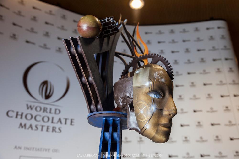 Chris Kwok's Artistic Showpiece. World Chocolate Masters Canadian Selection, January 20, 2013.