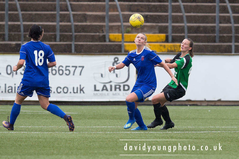 26th August 2018, Forfar Farmington v Stirling University in the Scottish Bulding Society SWPL 1 at Station Park, Forfar