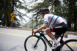 Omer Shapira (ISR) in a solo move at Amgen Tour of California Women's Race empowered with SRAM 2019 - Stage 2, a 74 km road race from Ontario to Mount Baldy, United States on May 17, 2019. Photo by Sean Robinson/velofocus.com