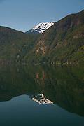 Mountain Reflection, Ross Lake National Recreation Area, North Cascades National Park, Washington, US