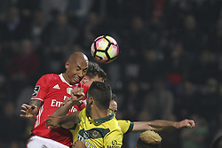 March 18, 2017 - Pacos De Ferreira, Pacos Ferreira, Portugal - Benfica's Brazilian defender Luisao during the Premier League 2016/17 match between Pacos Ferreira and SL Benfica, at Mata Real Stadium in Pacos de Ferreira on March 18, 2017. (Credit Image: © Dpi/NurPhoto via ZUMA Press)