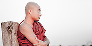 Buddhist monk portrait (Mynamar)