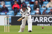 Jonathan Tattersall of Yorkshire batting during the opening day of the Specsavers County Champ Div 1 match between Yorkshire County Cricket Club and Hampshire County Cricket Club at Headingley Stadium, Headingley, United Kingdom on 27 May 2019.