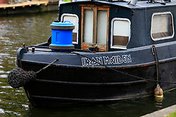 UK ENGLAND LONDON 2MAY16 - Name of a London Canal boat at Little Venice, Maida Vale, west London.<br /> <br /> jre/Photo by Jiri Rezac<br /> <br /> © Jiri Rezac 2016