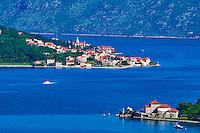 Monténégro, côte Adriatique, les bouches de Kotor // Montenegro, Adriatic coast, Bay of Kotor