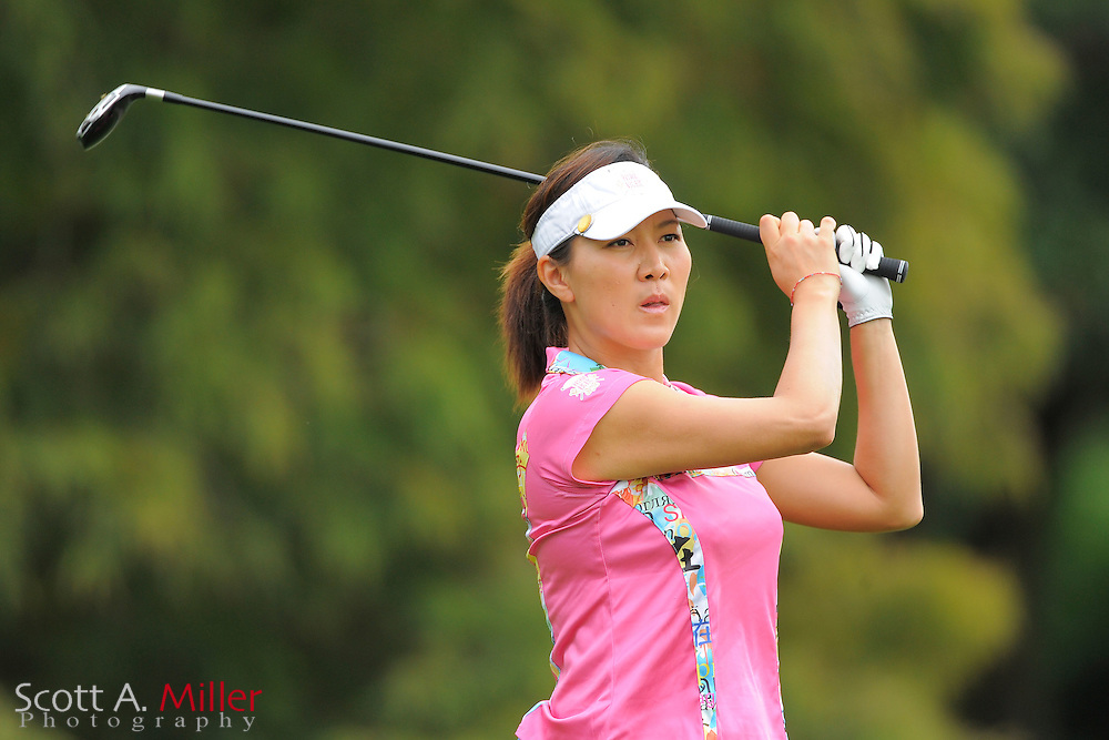 Amy Hung during the first round of the CME Group Titleholders at Grand Cypress Resort on Nov. 17, 2011 in Orlando, Fla.  ..©2011 Scott A. Miller