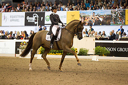 Vilhelmson Silfven Tinne (SWE) - Favourit<br /> WDM Dressage St Lazare Canada 2012<br /> © Hippo Foto - Cealy Tetly