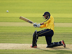 Hampshire's James Vince - Photo mandatory by-line: Robbie Stephenson/JMP - Mobile: 07966 386802 - 19/06/2015 - SPORT - Cricket - Southampton - The Ageas Bowl - Hampshire v Sussex - Natwest T20 Blast