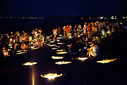 Illumination Night on the beach in Ocean Park, Maine