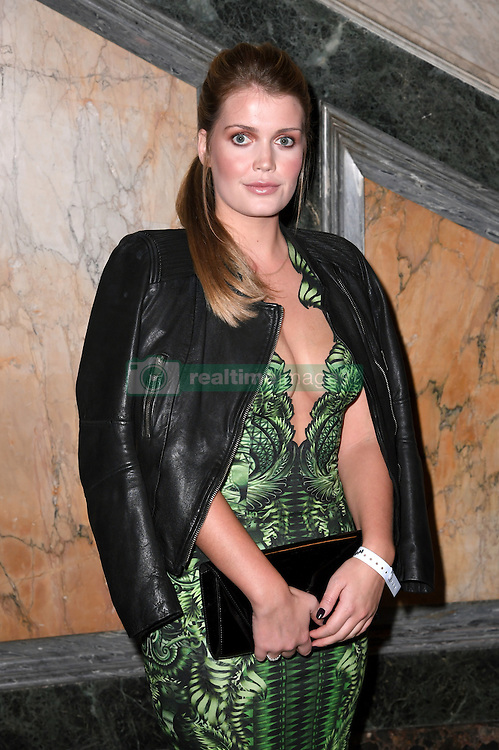 Lady Kitty Spencer at the Julien Macdonald Autumn/Winter 2017 London Fashion Week show at Goldsmiths' Hall, London. Photo credit should read: Doug Peters/ EMPICS Entertainment