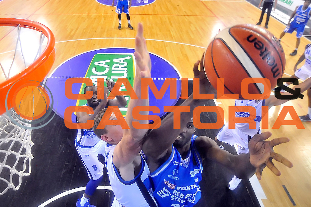 Gani Lawal <br /> Germani Basket Brescia - Red October Cantu'<br /> LegaBasket 2016/2017<br /> Brescia 09/10/2016<br /> Foto Ciamillo-Castoria