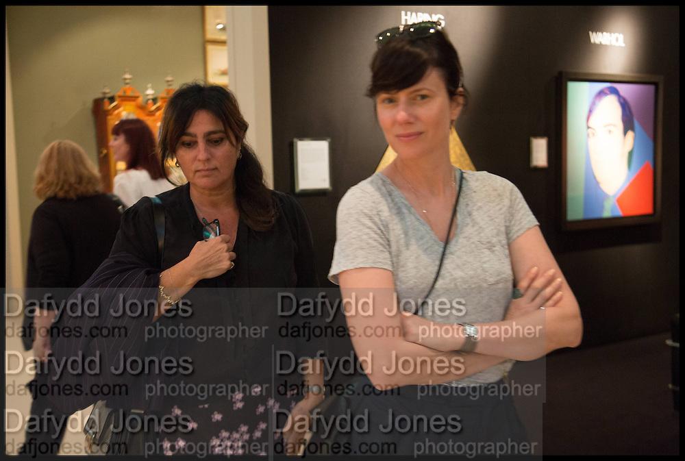 SOLANGE AZAGURY, Masterpiece London 2014 Preview. The Royal Hospital, Chelsea. London. 25 June 2014.