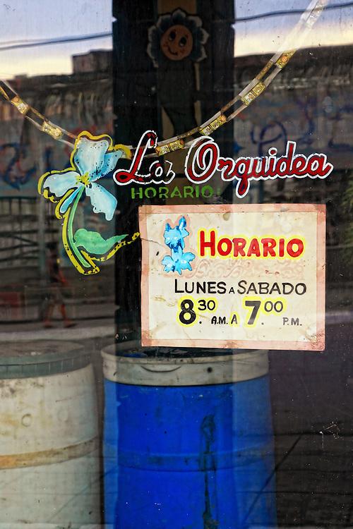 Shop sign in Cabaiguan, Sancti Spiritus, Cuba.