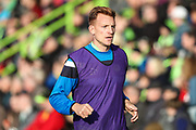 Forest Green Rovers Mark Roberts(21) warming up during the EFL Sky Bet League 2 match between Forest Green Rovers and Morecambe at the New Lawn, Forest Green, United Kingdom on 28 October 2017. Photo by Shane Healey.