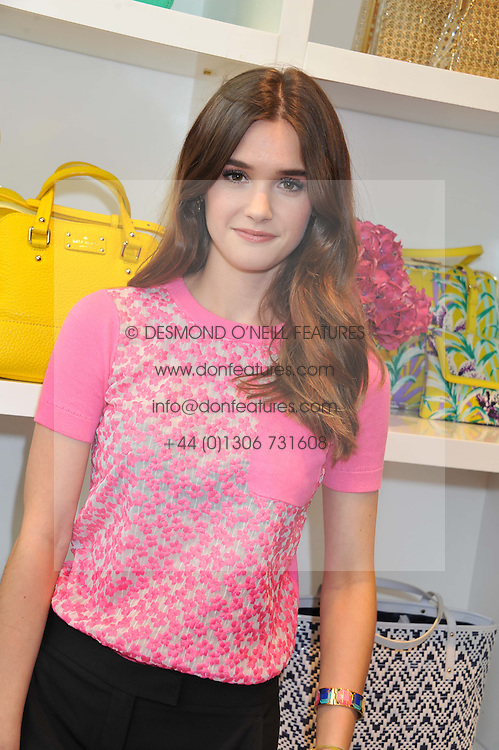 SAI BENNETT at the Kate Spade NY hosted Chelsea Flower Show Tea Party held at Kate Spade, 2 Symons Street, London on 23rd May 2013.