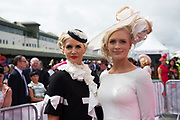 03/08/2017   Repro free Finalist at the g Hotel competitions  at the Galway Races  was Lorna Doogue from Carlow and was Susan Flanagan from Thurles . Photo: Andrew Downes, xposure
