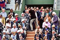Jean GACHASSIN / Mickael LLODRA  - 29.05.2015 - Jour 6 - Roland Garros 2015<br />Photo : Dave Winter / Icon Sport
