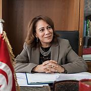 Tunisi, Sihem Badi Ministra delle Donne, detiene la carica nel nuovo governo.