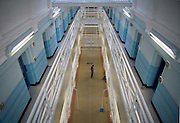 E wing, which is for new arrivals at the prison. HMP Wandsworth, London, United Kingdom