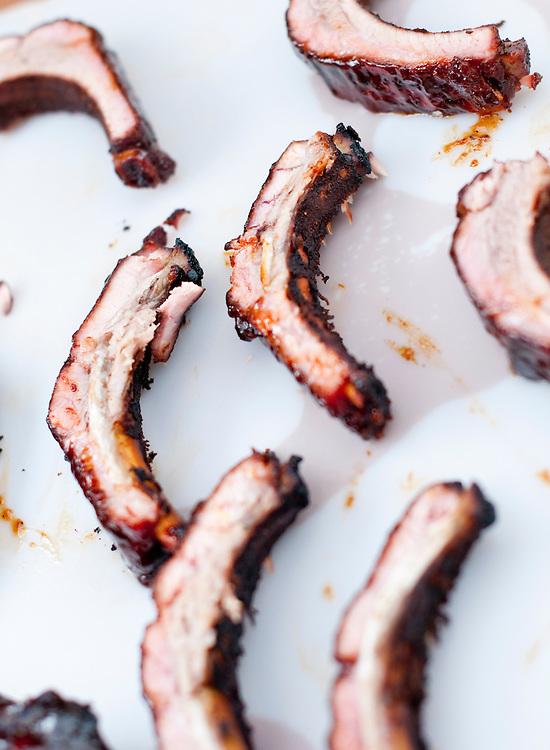 Jack Daniels Invitational Barbecue 2012 - The Jack. .Pork ribs.Photographer: Chris Maluszynski /MOMENT