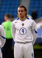 Fotball, 28. april 2004, Privatlandskamp, Norge-Russland 3-2, Dmitri Boulykin, Russland, portrett