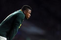Aphiwe Dyantyi of South Africa - Mandatory byline: Patrick Khachfe/JMP - 07966 386802 - 03/11/2018 - RUGBY UNION - Twickenham Stadium - London, England - England v South Africa - Quilter International