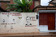 Revolutionary sign in Gibara, Holguin, Cuba.
