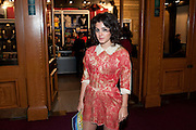 Katie Melua, Press night of Cirque du Soleil's new show 'Totem' at The Royal Albert Hall.  London. January 5, 2011<br /> <br /> -DO NOT ARCHIVE-© Copyright Photograph by Dafydd Jones. 248 Clapham Rd. London SW9 0PZ. Tel 0207 820 0771. www.dafjones.com.