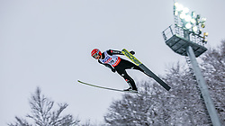 20.01.2018, Heini Klopfer Skiflugschanze, Oberstdorf, GER, FIS Skiflug Weltmeisterschaft, Einzelbewerb, im Bild Markus Eisenbichler (GER) // Markus Eisenbichler of Germany during individual competition of the FIS Ski Flying World Championships at the Heini-Klopfer Skiflying Hill in Oberstdorf, Germany on 2018/01/20. EXPA Pictures © 2018, PhotoCredit: EXPA/ Peter Rinderer