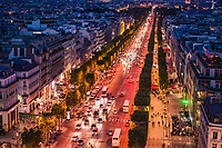 Avenue des Champs-Élysées @ Night