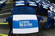 KELOWNA, CANADA - MARCH 14:  Dental Solutions at the Kelowna Rockets game on March 14, 2018 at Prospera Place in Kelowna, British Columbia, Canada.  (Photo By Cindy Rogers/Nyasa Photography,  *** Local Caption ***
