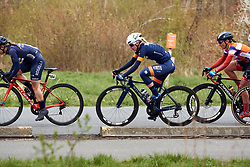 Louise Hansen (DEN) at Healthy Ageing Tour 2019 - Stage 5, a 124.3 km road race in Midwolda, Netherlands on April 14, 2019. Photo by Sean Robinson/velofocus.com