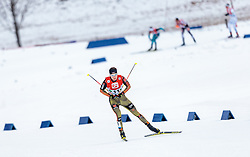 18.12.2016, Nordische Arena, Ramsau, AUT, FIS Weltcup Nordische Kombination, Langlauf, im Bild Terence Weber (GER) // Terence Weber of Germany during Cross Country Competition of FIS Nordic Combined World Cup, at the Nordic Arena in Ramsau, Austria on 2016/12/18. EXPA Pictures © 2016, PhotoCredit: EXPA/ JFK
