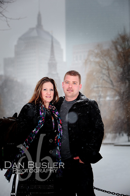 Bethany and Jamie - A Boston Engagement - January 21, 2012