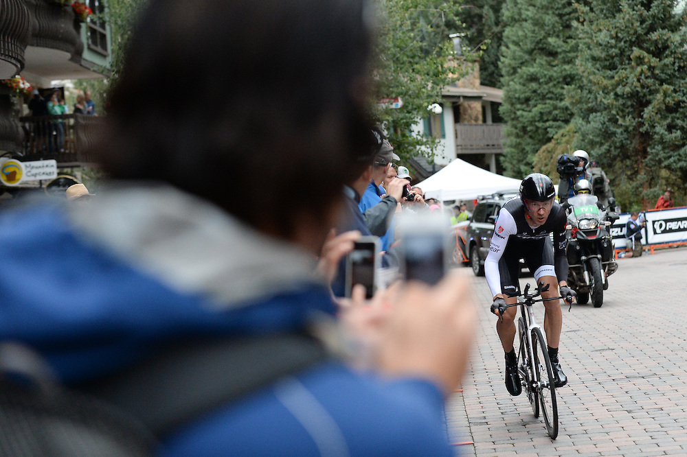 Stage 6 of the 2014 USA Pro Challenge. Vail TT.