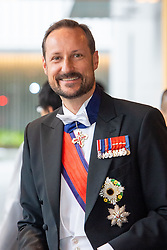 October 22, 2019, JAPAN: 22-10-2019 Inhuldiging Enthronement ceremony of Emperor Naruhito of Japan in Tokyo..Prince Haakon arrives at the Imperial Palace to attend the proclamation ceremony of Japans Emperor in Tokyo, Japan. (Credit Image: © face to face via ZUMA Press)