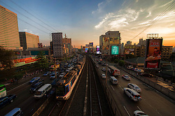 Image shows general view of Manila. 20/04/2015.<br /> <br /> Credit should read: Cpl Mark Larner RY<br /> <br /> Exercise Civil Bridge is being conducted by elements of 77 Brigade &ndash; a specialist British military unit that is working alongside the government and disaster relief organisations as part of an annual overseas training exercise. <br /> <br /> Their mission during the two-week deployment will be to look at examples of the existing Philippine earthquake contingency response plans and, working with Philippine colleagues, make suggestions that will help save lives by enhancing the country&rsquo;s ability to respond to an earthquake in an urban setting.