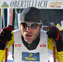 22.01.2011, Loipe Obertilliach, Obertilliach, AUT, 10. Dolomiten Classicrace, im Bild Zweiter Platz für Sutter Martin (AUT)// EXPA Pictures © 2011, PhotoCredit: EXPA/ M. Gruber