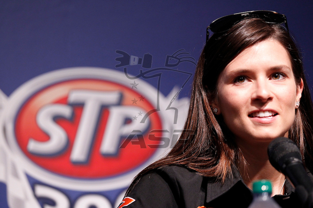 Joliet, IL - June 03, 2011: Danica Patrick (7) during practice for the STP 300 race at the Chicagoland Speedway in Joliet, IL.
