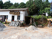 Yuhu, Yunnan, China Home to the Naxi people with buildings made of stone