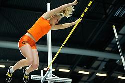 06-02-2010 ATLETIEK: NK INDOOR: APELDOORN<br /> Nederlands kampioen Denise Groot<br /> ©2010-WWW.FOTOHOOGENDOORN.NL