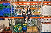 No repro fee<br /> 24/10/2016<br /> Picture shows from left FoodCloud co-founders Iseult Ward and Aoibheann O&rsquo;Brien at the launch of the FoodCloud Hub in Tallaght, Dublin 24. At the launch it was announced that Bia Food Initiative and FoodCloud are coming together. Working with their partners in the food, retail and charity sectors FoodCloud and FoodCloud Hubs will redistribute 4,000 tonnes of food across Ireland in 2017.Pic:Naoise Culhane-no fee