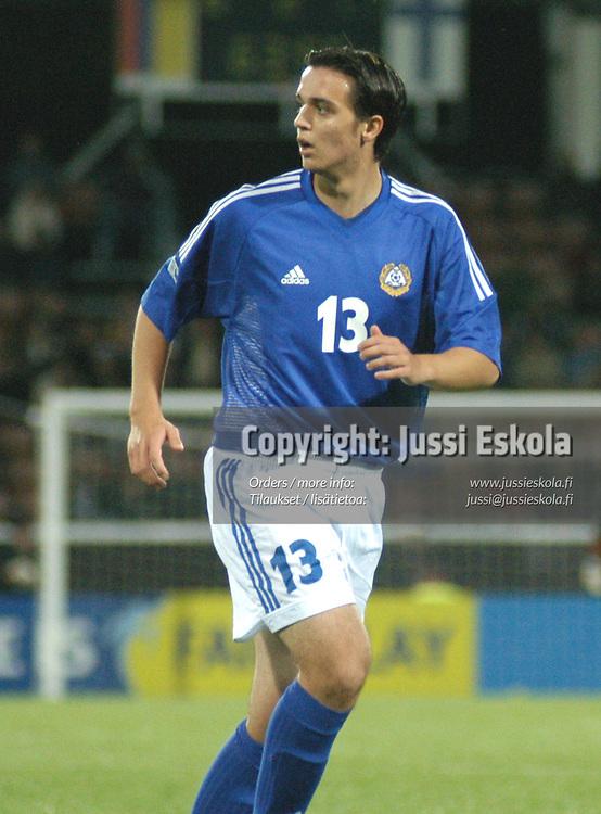Umit Menekse.<br /> Alle 17-vuotiaiden MM-kisat 2003.&#xA;Photo: Jussi Eskola