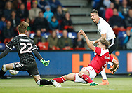 FOOTBALL: Frederik Rønnow (Denmark) saves a shot from Sandro Wagner (Germany) during the Friendly match between Denmark and Germany at Brøndby Stadion on June 6, 2017 in Brøndby, Denmark. Photo by: Claus Birch / ClausBirch.dk.