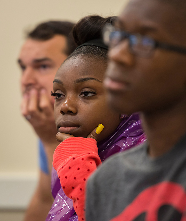 Houston ISD EMERGE students visit Stonehill College, June 5, 2014.